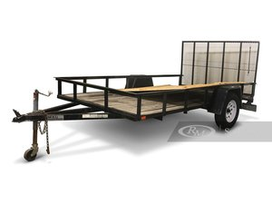 Forest River 6.512-Ft. Utility Trailer