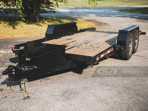 2011 No Ramp 22-Ft. Ramp-Less Open Trailer