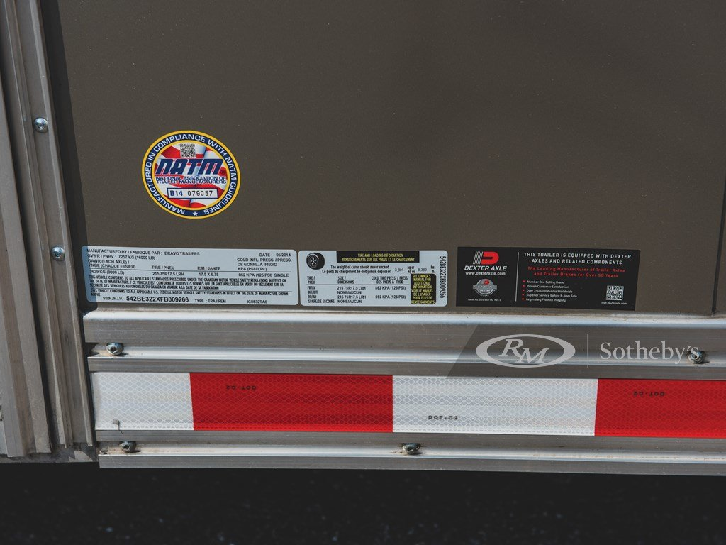 2015 Bravo 32-Ft. Tag-Along Trailer  For Sale by Auction (picture 3 of 6)