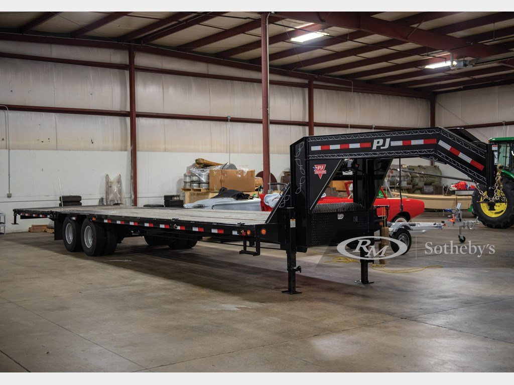 2018 PJ Trailers 40-Ft. Flatbed Trailer  For Sale by Auction (picture 1 of 6)