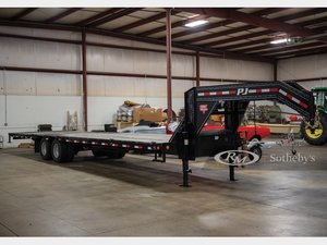 2018 PJ Trailers 40-Ft. Flatbed Trailer