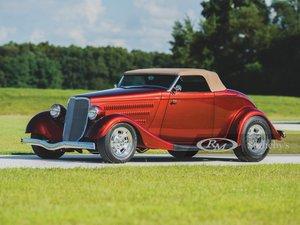 1933  Ford Roadster Custom by Roy Brizio