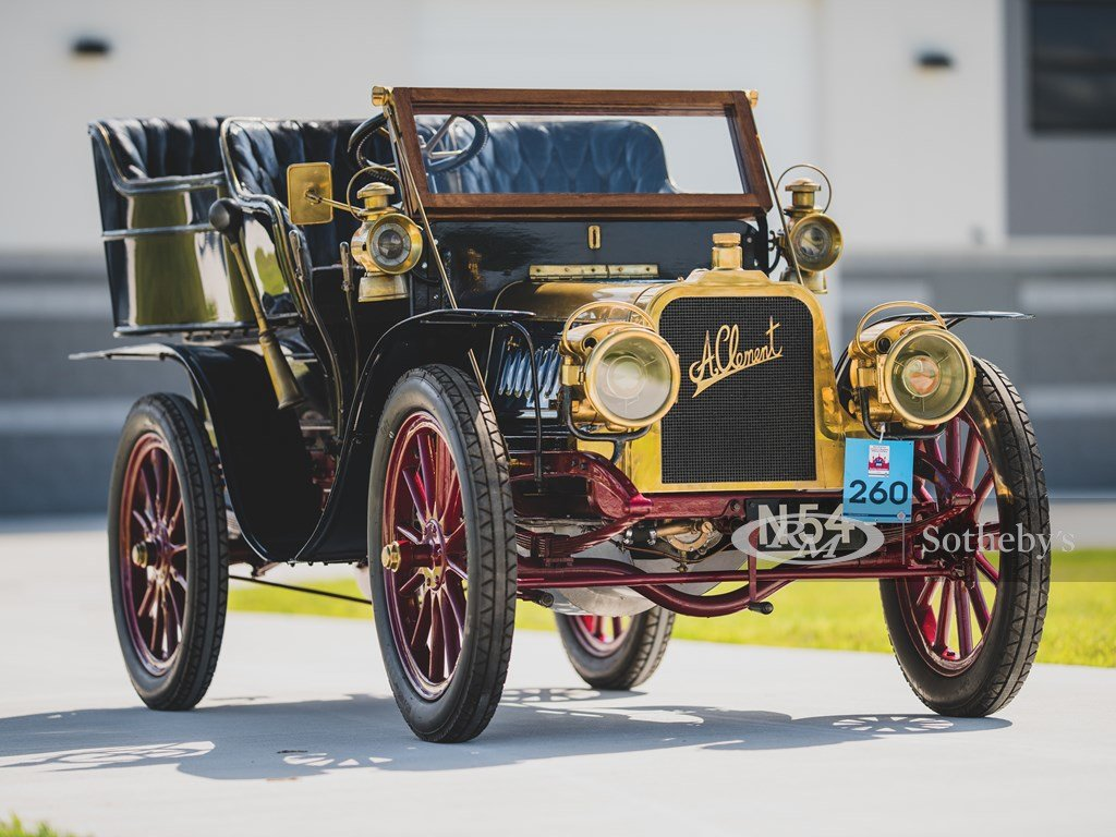 1903 Clment 1216 HP Rear-Entrance Tonneau  For Sale by Auction (picture 6 of 6)