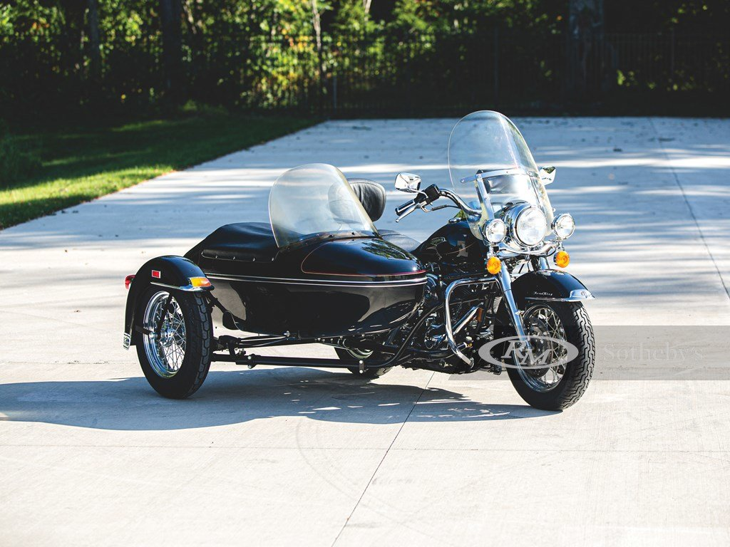 1999 Harley-Davidson Road King Classic with Sidecar  For Sale by Auction (picture 1 of 6)