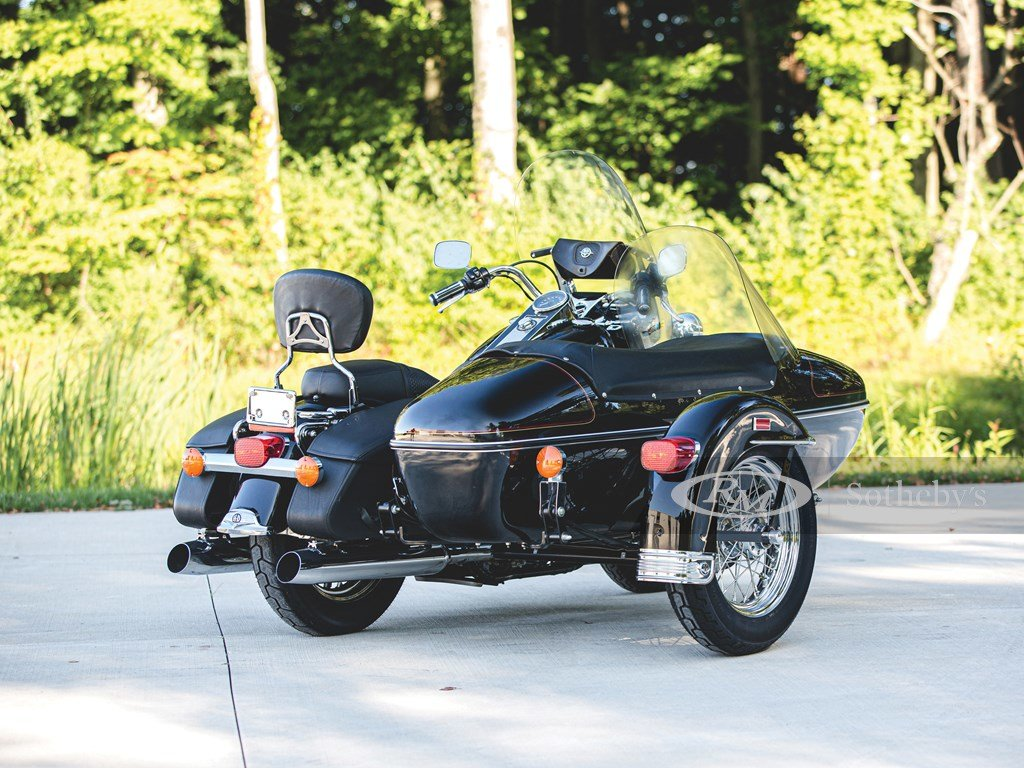 1999 Harley-Davidson Road King Classic with Sidecar  For Sale by Auction (picture 2 of 6)