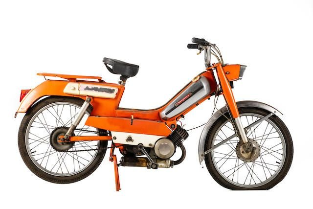 C.1971 MOTOBÉCANE MOBYLETTE 50CC AV92 MOPED (LOT 555) SOLD by Auction (picture 1 of 1)