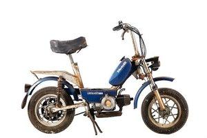 C.1985 MOTOBI MOTORELLA-GL MOPED (LOT 557) For Sale by Auction