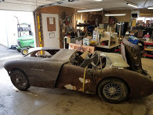 Picture of 1955 Austin Healey 100 Roadster LHD Project Correct $8.9k For Sale