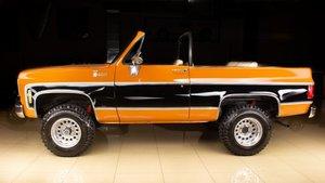 1975 Chevrolet Blazer 4X4 Convertible SUV Restored $39.9k