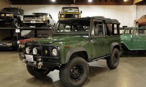 1995 Land Rover Defender 90 Soft Top LHD gas Mods $67.5k