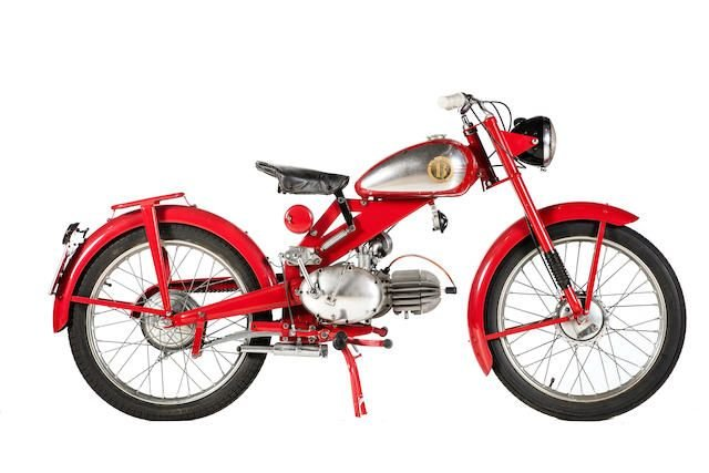 C.1950 MOTOBI 98CC MODEL B (LOT 615) SOLD by Auction (picture 1 of 1)