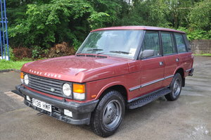 Picture of 1989 RANGE ROVER VOGUE EFI A 3.5 CLASSIC  / LPG CONVERSION FITTED For Sale