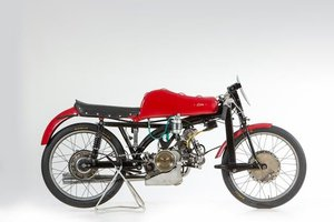 C.1950 LINTO 75CC BIALBERO RACING MOTORCYCLE (LOT 642) For Sale by Auction