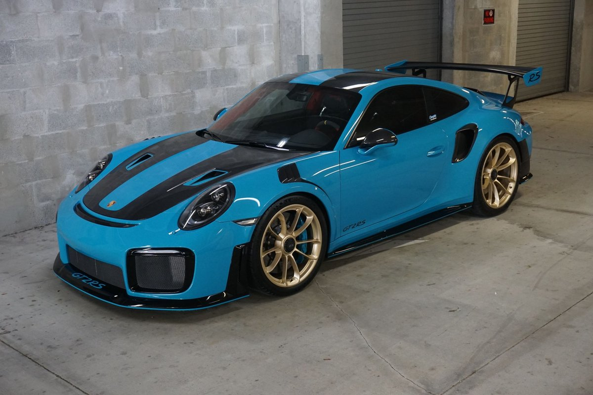2019 Porsche 911 GT2 RS Weiseach Coupe Fast 691-HP $ob For Sale (picture 1 of 6)