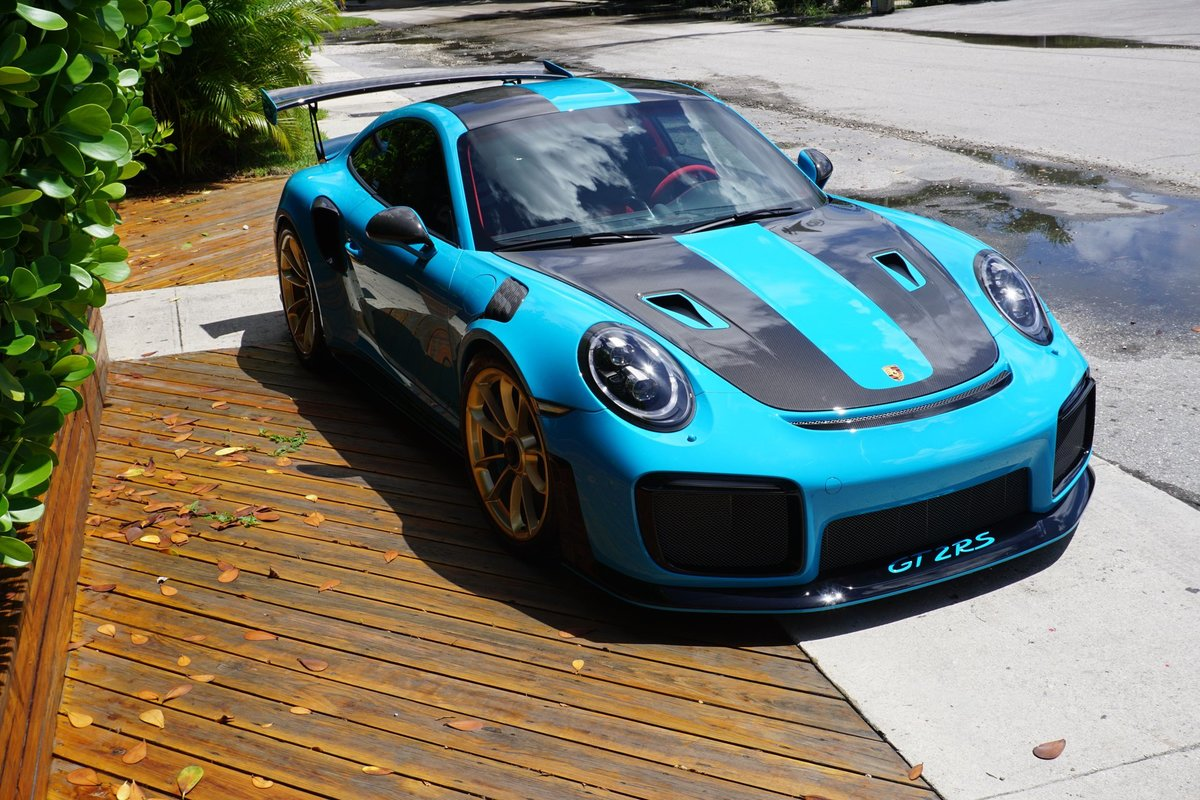 2019 Porsche 911 GT2 RS Weiseach Coupe Fast 691-HP $ob For Sale (picture 2 of 6)