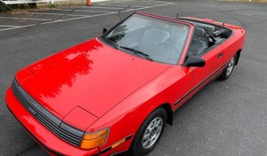 1988 Toyota Celica GT Convertible Clean Red 5 speed  $7.9k