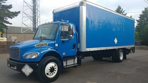 2013 Freightliner M2 106 24 Foot Box 3000 pound Lift~gate Di