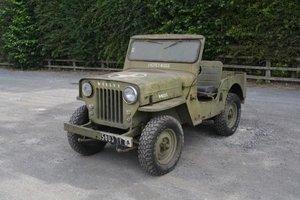 1955 Hotchkiss Willys Jeep JH101
