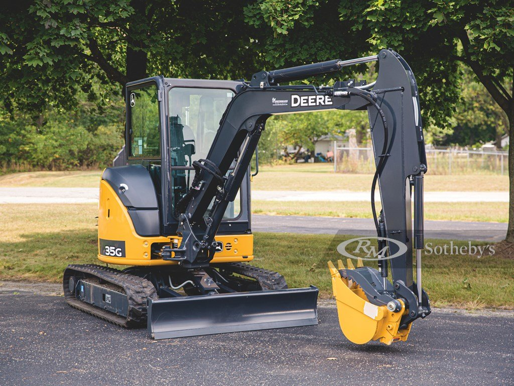 2017 John Deere 35G Hydraulic Excavator  For Sale by Auction (picture 1 of 6)