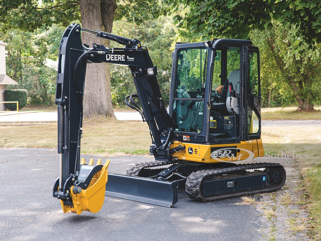 2017 John Deere 35G Hydraulic Excavator  For Sale by Auction (picture 6 of 6)