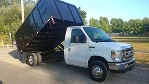 2015 Ford Chassis E-350 SD  12 foot Dump Box $18.9k