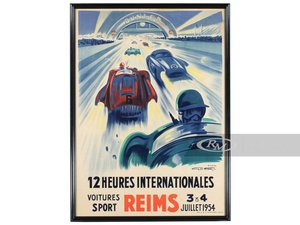 Reims 12 Heures Internationales by Go Ham, 1954