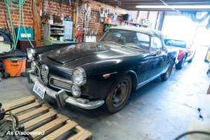 Picture of 1963 Alfa Romeo 2600 Spider Convertible Solid Dry Cali $83.5 For Sale