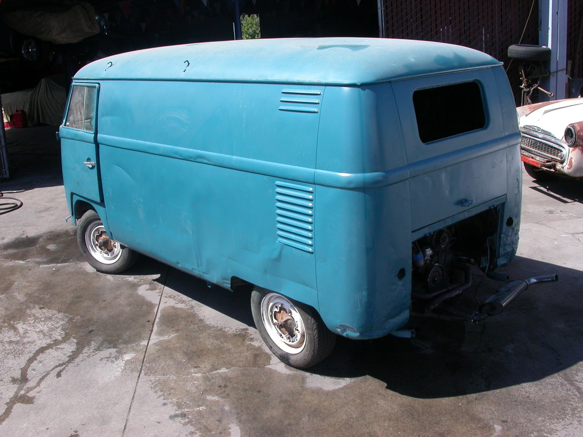 1956 Early split window panel van shipping included to uk For Sale (picture 3 of 6)