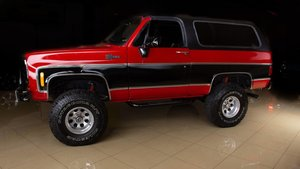 Picture of 1973  Chevrolet K5 Blazer 4X4 Convertible SUV Restored $39.9 For Sale