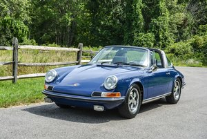 Picture of 1970 Porsche 911 T Targa clean Navy(~)Blue Cali Car $obo For Sale