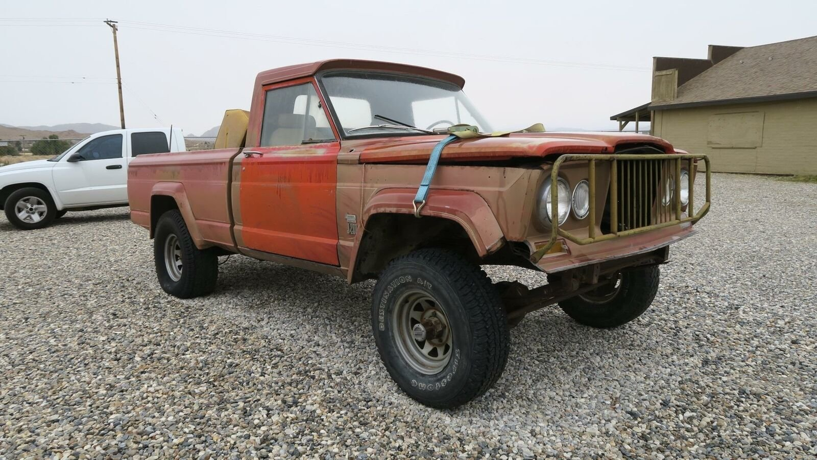 1964 AMC Jeep GLADIATOR 4X4 Puck Up TRUCK Project  $3.5k For Sale (picture 1 of 6)