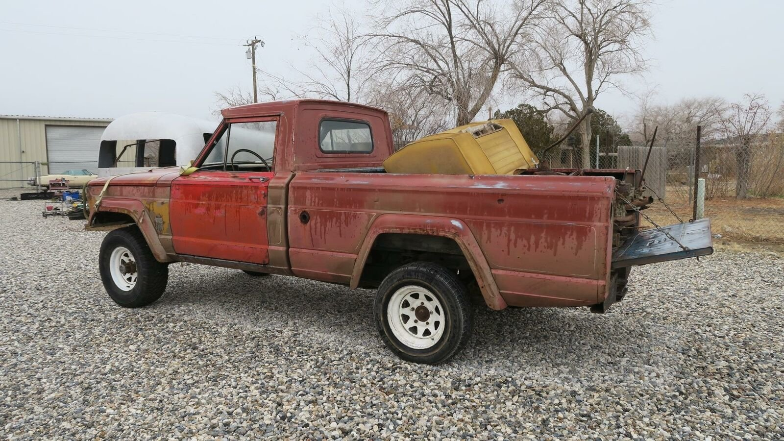 1964 AMC Jeep GLADIATOR 4X4 Puck Up TRUCK Project  $3.5k For Sale (picture 2 of 6)