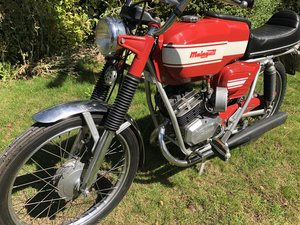 Malaguti Olympique 50cc sports moped