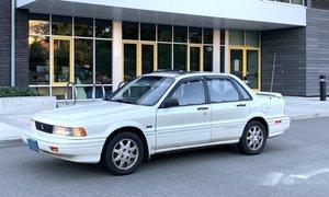 1991 Eagle 2000GTX | Mitsubishi Galant AWD Manual LHD $4.5k
