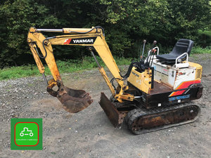 2000 Yanmar YB101 ALL WORKS MINI DIGGER SEE VID CAN DELIVER + VAT SOLD
