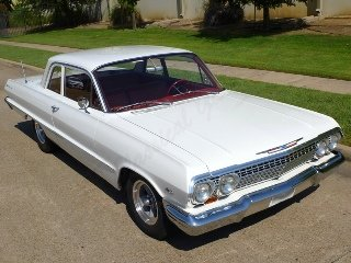 Picture of 1963 Chevrolet BelAir Sedan HardTop Fresh 350 AT AC $47.5k For Sale