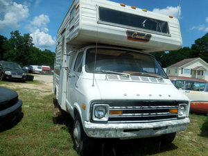 1978 Dodge Sportsman 16FKTH MotorHome RV Project $3.5k