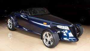 2001 Chrysler Prowler Convertible Roadster 7k miles Blue $38