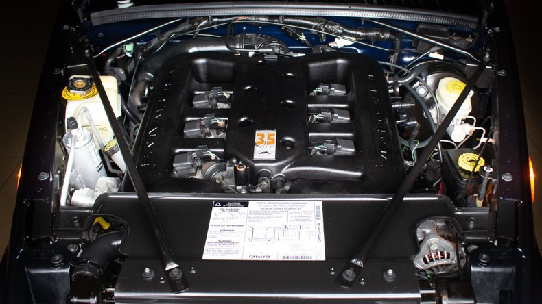 2001 Chrysler Prowler Convertible Roadster 7k miles Blue $38 For Sale (picture 6 of 6)