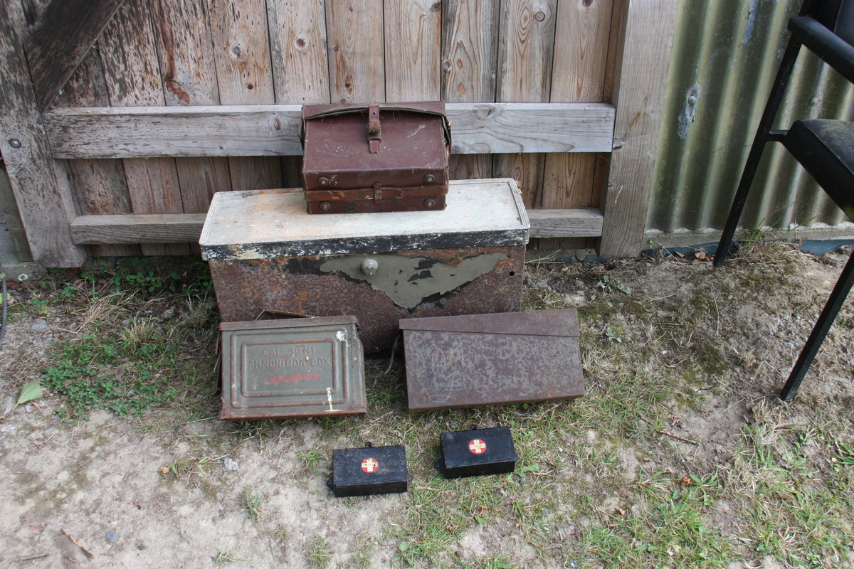 1920 TOOL or BATTERY BOX for Old Car / Military Vehicle For Sale (picture 1 of 1)