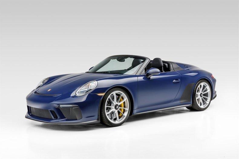 2019 Porsche 911 Speedster Rare Blue(~)Black 233 miles $319. For Sale (picture 1 of 6)