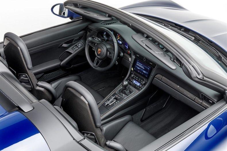 2019 Porsche 911 Speedster Rare Blue(~)Black 233 miles $319. For Sale (picture 5 of 6)