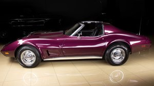 1976 Chevrolet Corvette Coupe T-Top 350 AT clean Purple $19  For Sale