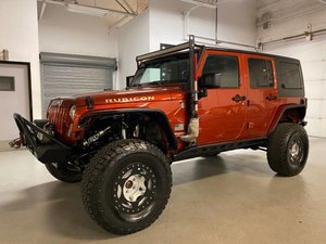 2014 Jeep Wrangler Unlimited Rubicon 4WD SUV FOX Shocks