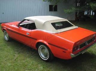 Picture of 1973 Ford Mustang Convertible 302 AT Power~Top clean $26.9k For Sale