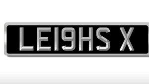 LE19HSX - Cherished LEIGH registration