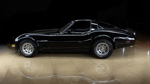 1982 Chevrolet Corvette T-Top Coupe 350  Auto  Black $22.9k For Sale