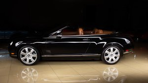 Picture of 2008 Bentley Continental Convertible LHD Black(~)Tan $64.9k For Sale