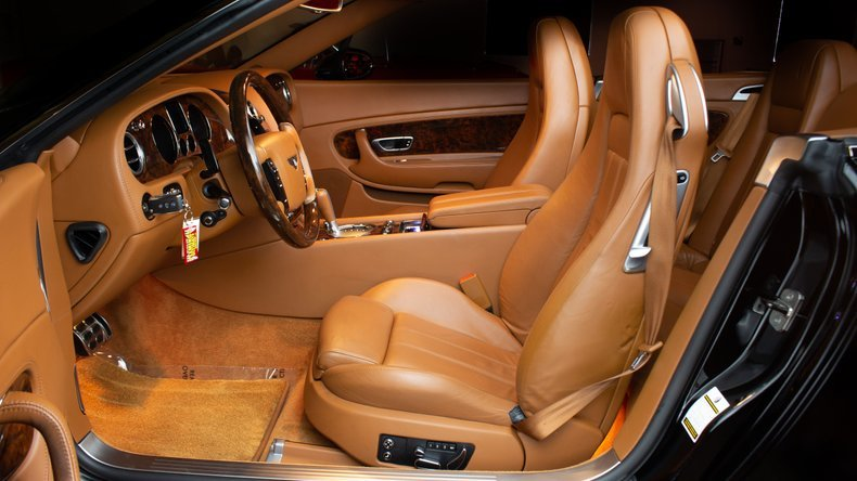 2008 Bentley Continental Convertible LHD Black(~)Tan $64.9k For Sale (picture 3 of 6)