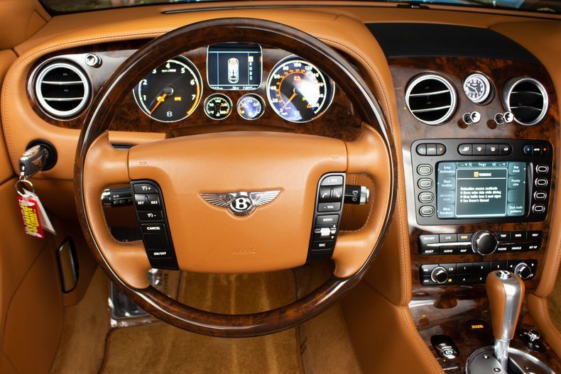 2008 Bentley Continental Convertible LHD Black(~)Tan $64.9k For Sale (picture 4 of 6)
